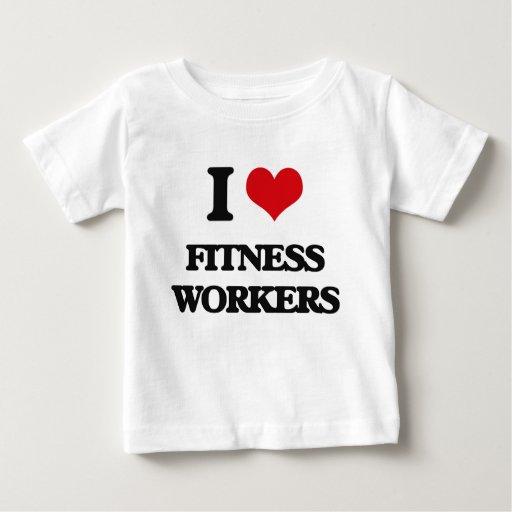 I love Fitness Workers Tees T-Shirt, Hoodie, Sweatshirt
