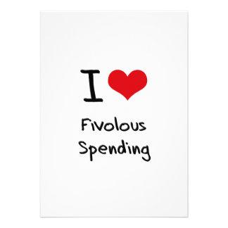 I Love Fivolous Spending Announcement