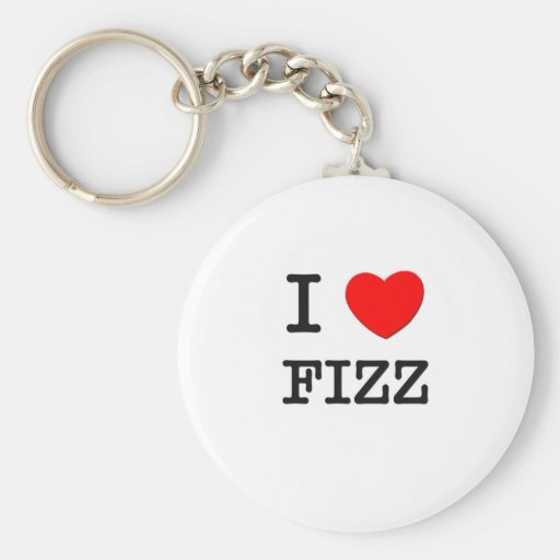 I Love Fizz Keychains