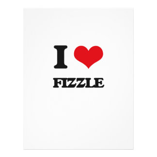 i LOVE fIZZLE Flyer