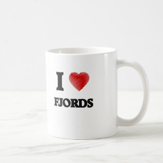 I love Fjords Coffee Mug