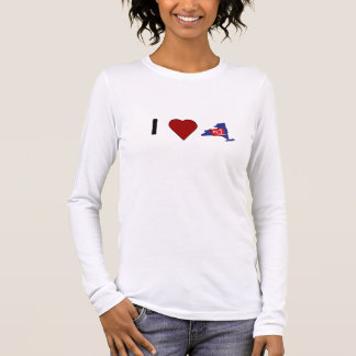 """I Love FL1"" Women's Long Sleeved T-Shirt"