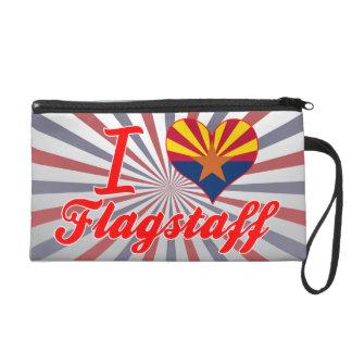 I Love Flagstaff, Arizona Wristlet