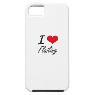 I love Flailing iPhone 5 Cases