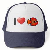 I Love Flame Angelfish