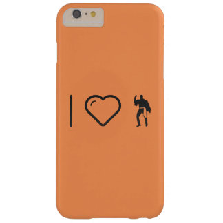 I Love Flamenco Actions Barely There iPhone 6 Plus Case