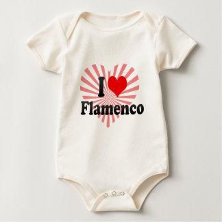 I love Flamenco Baby Bodysuit