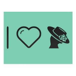 I Love Flamenco Beauties Postcard