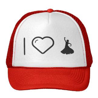 I Love Flamenco Hands Trucker Hat