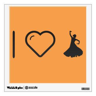 I Love Flamenco Hands Wall Decor