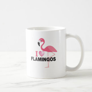 i love flamingos coffee mug