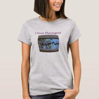 I Love Flamingos! Las Vegas Shirt