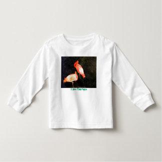 I love Flamingos - Toddle T-shirt