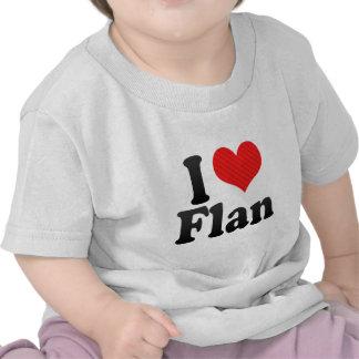 I Love Flan Shirt