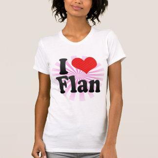 I Love Flan T-Shirt