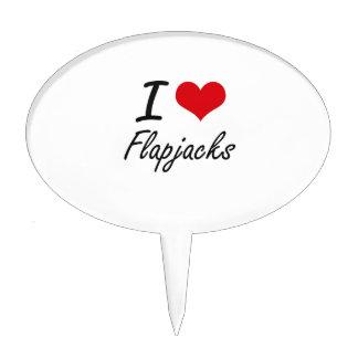 I love Flapjacks Cake Toppers