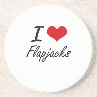 I love Flapjacks Drink Coaster