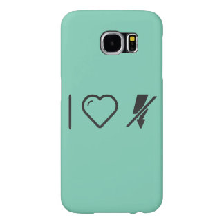 I Love Flash Disconnects Samsung Galaxy S6 Cases