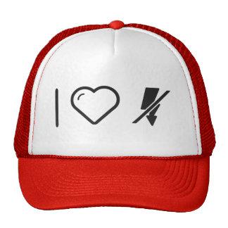 I Love Flash Disconnects Trucker Hat