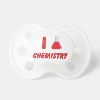 I Love (flask) Chemistry Pacifier