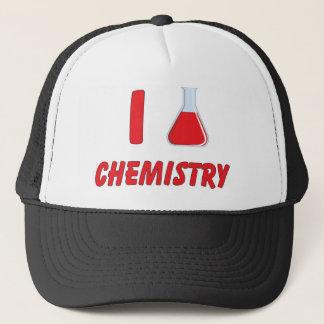 I Love (flask) Chemistry Trucker Hat