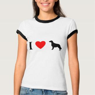 I Love Flat Coated Retrievers T-Shirt