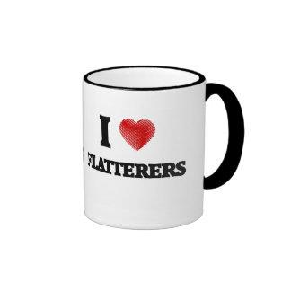 I love Flatterers Ringer Mug