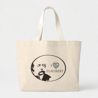 I Love Flaubert Tote Bag