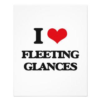 i LOVE fLEETING gLANCES Personalized Flyer