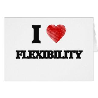 I love Flexibility Card