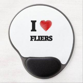 I love Fliers Gel Mouse Pad