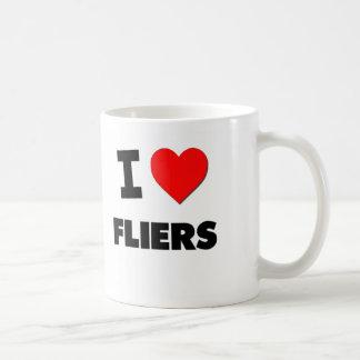 I Love Fliers Classic White Coffee Mug