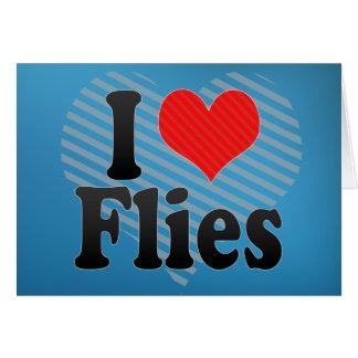 I Love Flies Card