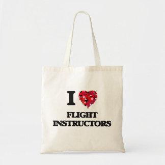 I love Flight Instructors Budget Tote Bag