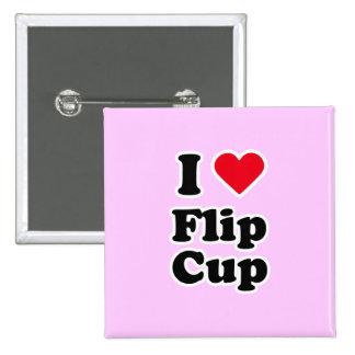 I love flip cup pin