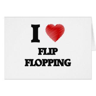 I love Flip Flopping Card