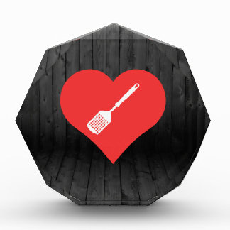 I Love Flipping Burgers Acrylic Award