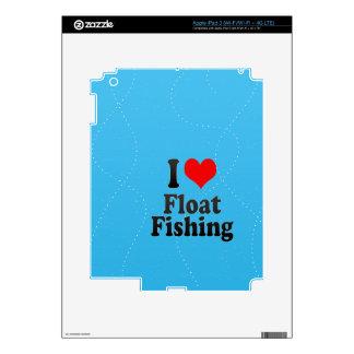 I love Float Fishing iPad 3 Decal