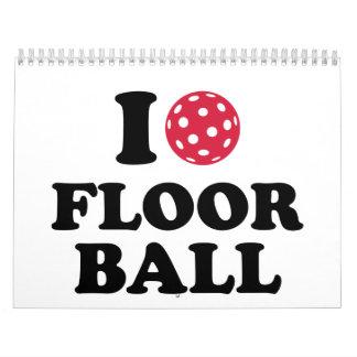 I love Floorball Calendar