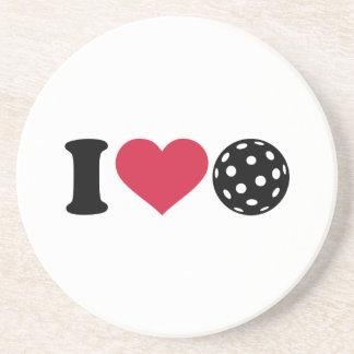 I love Floorball Drink Coasters