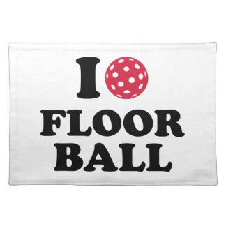 I love Floorball Place Mats