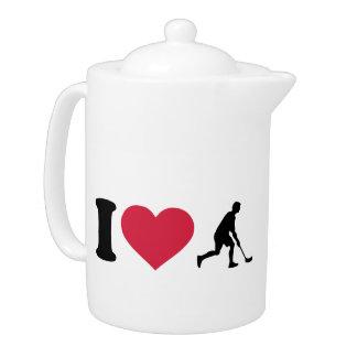 I love Floorball player