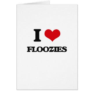 i LOVE fLOOZIES Greeting Card