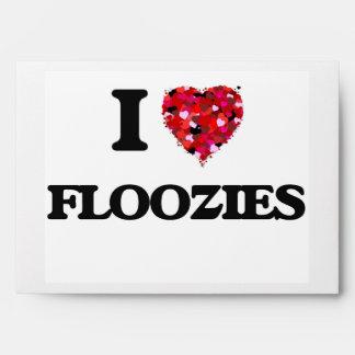I Love Floozies Envelope
