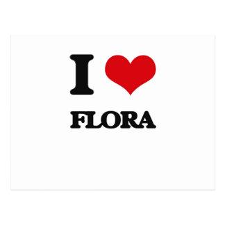 i LOVE fLORA Postcard