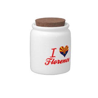 I Love Florence, Arizona Candy Jars