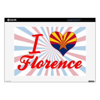 """I Love Florence, Arizona Decal For 15"""" Laptop"""