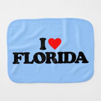 I LOVE FLORIDA BURP CLOTHS