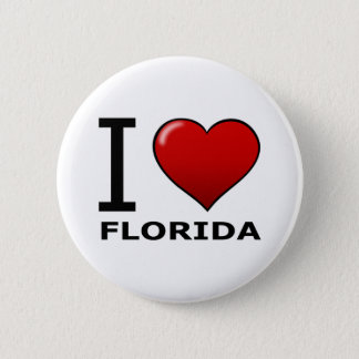 I LOVE FLORIDA BUTTON