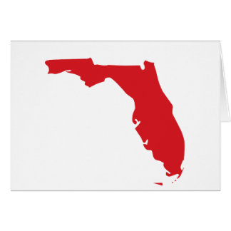 I Love Florida Card